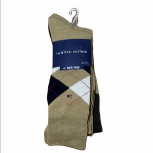 Tommy Hilfiger 4 pack Argyle Socks